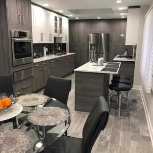 cabinet refacing & kitchen cabinets painting Chicago
