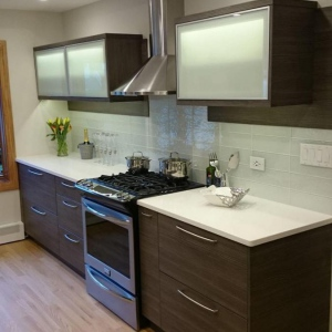 cabinet refacing Chicago & kitchen cabinet refacing