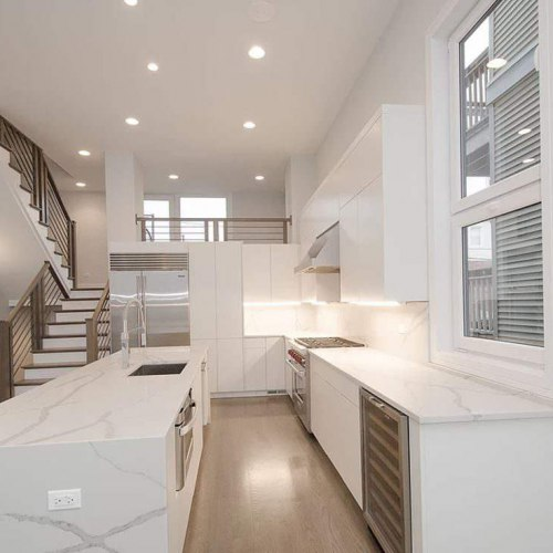 white kitchen cabinets painting Chicago